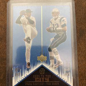 Tom Brady/Pedro Martinez Dual Card for Sale in Waterbury, CT