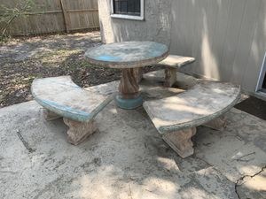 Concrete Patio Set for Sale in Winter Park, FL