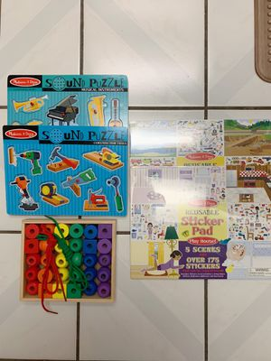Melissa and Doug toddler toys for Sale in Los Angeles, CA