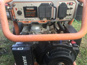Generator Ridgid (Are You Ready for a Early Winter!) SORRY NO TRADES for Sale in Arlington, TX