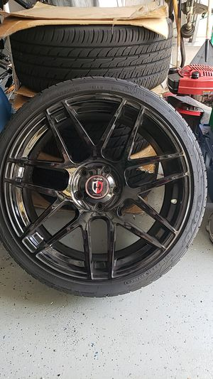 19 inch BMW wheels with Toyo proxes for Sale in Lake Worth, FL