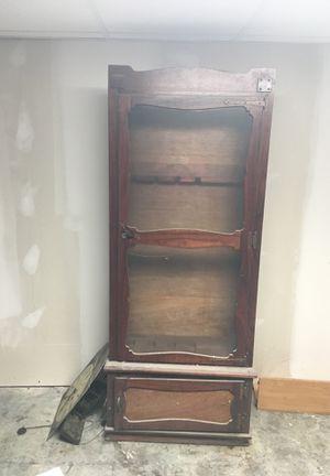 Antique Gun Cabinet for Sale in Webster Groves, MO
