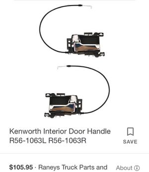KentWorth Interior Door Handle for Sale in Monterey Park, CA