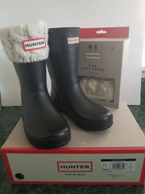 Girls hunter boots for Sale in Joliet, IL