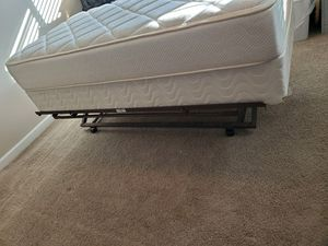 Twin trundle with mattress and box spring for Sale in Olympia, WA