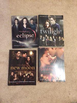 Set of Twilight Movie Companion Books. for Sale in Fairfax, VA