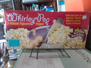 Whirly Pop 3-Minute Popcorn Popper for Sale in Woodbridge, VA