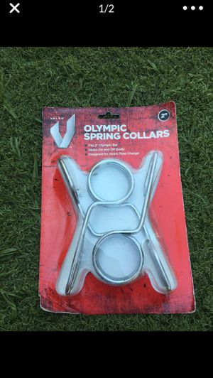 "Olympic Weight Bar 2"" Collars New for Sale in Fresno, CA"