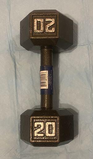 20 Pound Dumbbell, Single 20 Lb Dumbell, kettlebell for Sale in Vallejo, CA