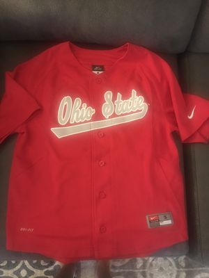 Ohio State Buckeyes Youth Small Nike Dri-Fit Baseball Jersey NWOT for Sale in OH, US