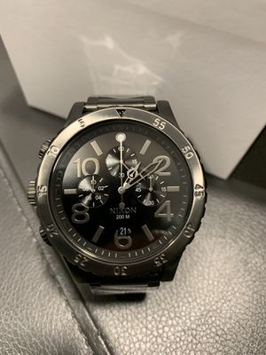 Nixon 48-20 Watch black and silver for Sale in Ashburn, VA