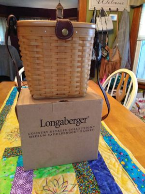Longaberger basket for Sale in Elyria, OH