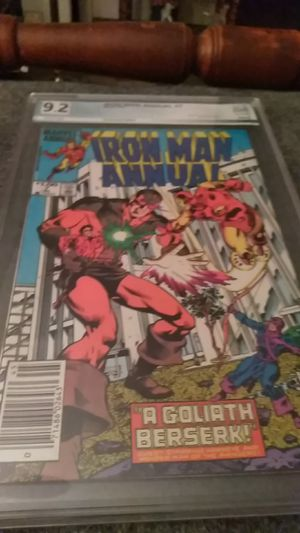 Iron Man Annual #7 (1984) PGX 9.2 for Sale in Shelton, CT