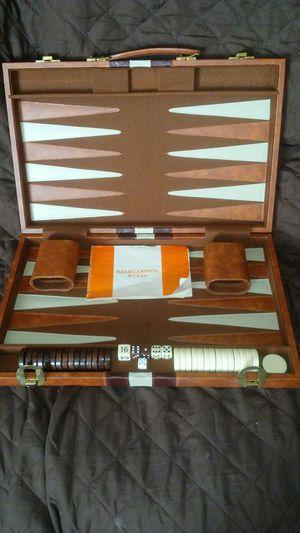 "Backgammon Set 18""x 11.5""x 2"" w Case for Sale in Aurora, CO"