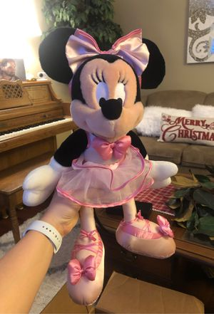 Disney Minnie Mouse ballerina plush stuffed animal for Sale in Layton, UT