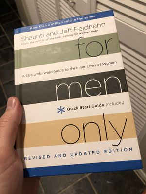 For Men Only - Relationship book for dudes for Sale in Columbia, MD