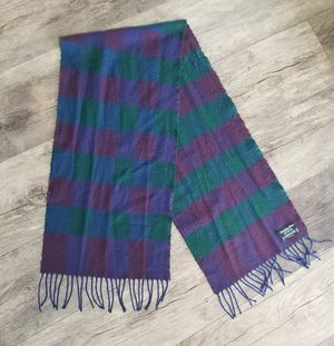 Vintage 1990's Christian Dior Cashmaire Plaid Fringe Scarf Made In France. for Sale in Marysville, WA