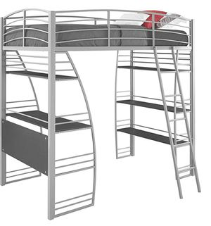 DHP Studio Loft bunk bed with desk for Sale in Folsom, CA