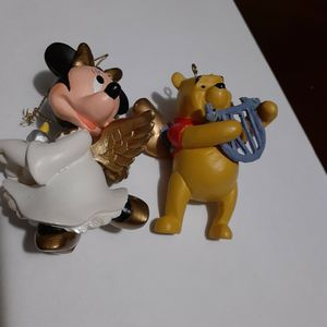 """Winnie The Pooh & Minnie Ornaments Figurine """"Disney"""" $10 for Sale in Los Angeles, CA"""