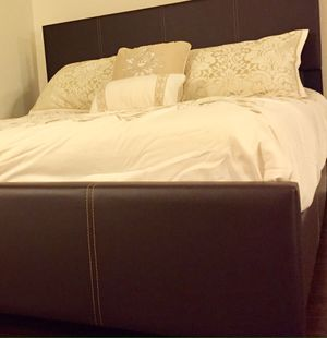 New Brown Queen Bed for Sale in Silver Spring, MD