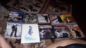 Ps4 and ps3 games for Sale in Seattle, WA