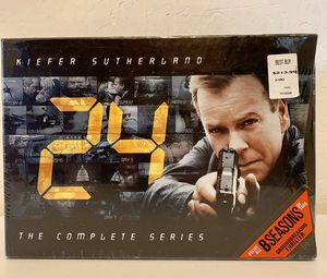 DVD 56 DISC SET/8 SEASONS OF 24 SHOW for Sale in Mesa, AZ
