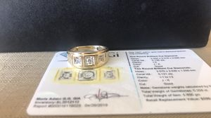 Men's yellow gold diamond ring for Sale in Kuna, ID