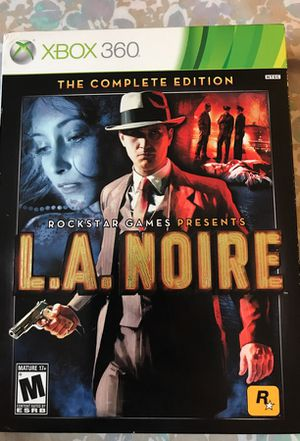 L.A Noire complete edition Xbox 360 game for Sale in Cleveland, OH