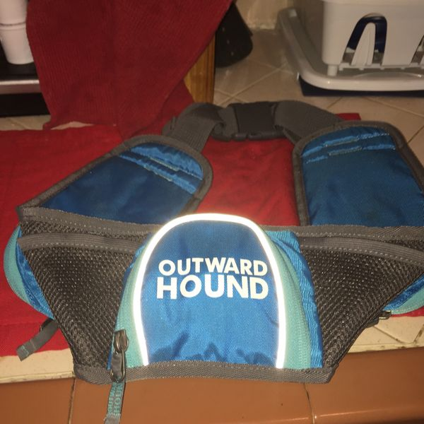New Outward Hound Fanny Pack For Dog Walker
