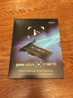 Elgato game capture card HD60 Pro brand new! for Sale in Chicago, IL