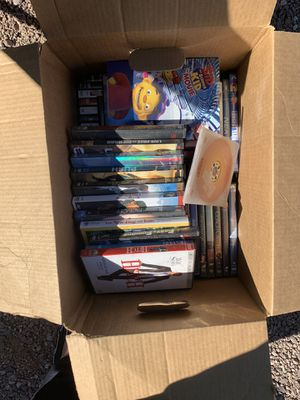 Box of dvd movies for Sale in Waddell, AZ