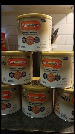 6 8 oz cans nutramigen brand new for 100 for Sale in Houston, TX