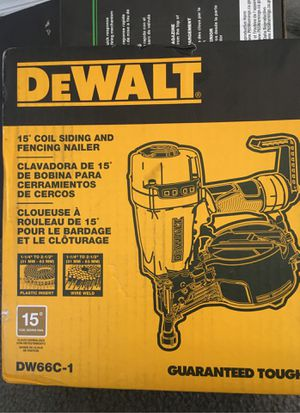 Dewalt nail gun for Sale in Detroit, MI