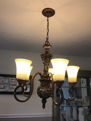 Lamps and chandelier for Sale in Damascus, MD
