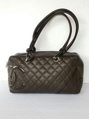 Authentic Chanel Cambon bowler shoulder bag for Sale in Arlington, TX