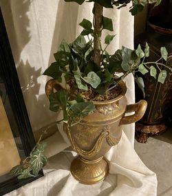Pair Of Vintage Silk Topiary for Sale in Arlington,  TX