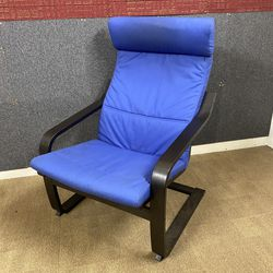 IKEA Black And Blue Poang Chair for Sale in Auburn,  WA