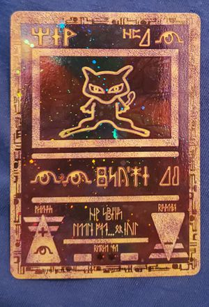 Pokemon The Movie Promo Holo Card - Ancient Mew for Sale in Lathrop, CA