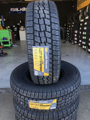 265/75/16 New set of tires installed for Sale in Rancho Cucamonga, CA