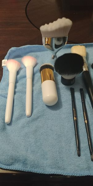 Face and eye makeup brushes for Sale in Stafford, VA