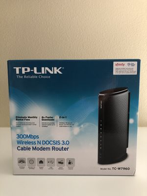 TP Link TC-W7960 2-in-1 Modem AND Router for Sale in Irvine, CA