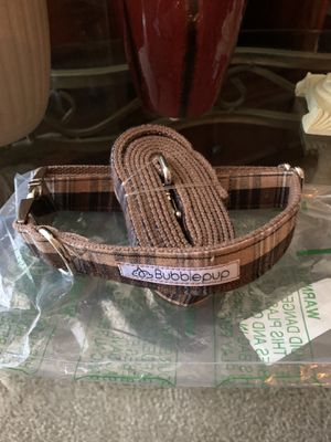 Brand new Bubble pup leash and collar set for Dog for Sale in Elk Grove, CA