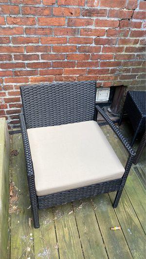 Black outdoor furniture set for Sale in Boston, MA