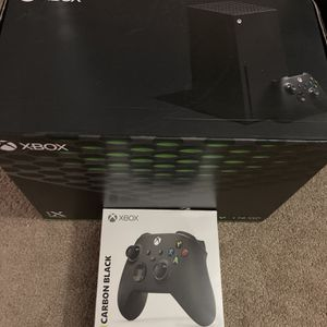 Brand New Xbox Series X With Wireless Black Controller for Sale in Huntington Beach, CA