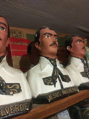Special Original Statues Jesus Malverde Recuerdos Especiales del Narco Santo for Sale in Rialto, CA