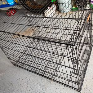 "Dog Cage - Large - 27""X42"" - 30"" Tall - With One Door -The Cage Folds Down Flat for Sale in Fort Lauderdale, FL"