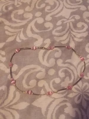 Different types of pink necklace for Sale in Hattiesburg, MS