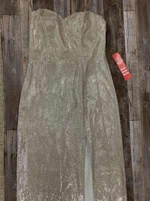 Gold prom dress floor length for Sale in Penllyn, PA