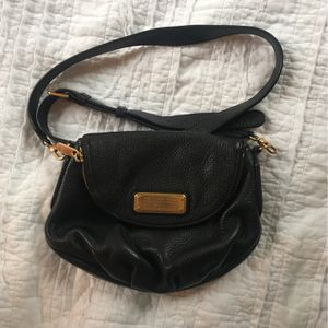 Marc Jacobs Black Leather Crossbody Bag - Excellent Condition! for Sale in Alameda, CA