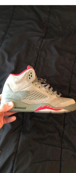 """Jordan 5 """"Camo"""" Size 7y for Sale in MAGNOLIA SQUARE, FL"""